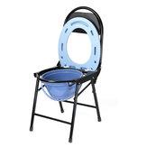 35x39x78cm összecsukható komódos bili szék acél műanyag szék az idős gravid számára
