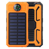 Solar Chargers 8000mAh USB Solar Battery Charger Phone Charger Power Bank with Flashlight