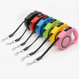 Automatic Telescopic Traction Rope Extending Puppy Walking Running Durable  Puppy Cat Leash