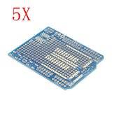 5Pcs Prototyping Shield PCB Board Geekcreit for Arduino - products that work with official Arduino boards