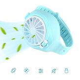 5W Kinderen Mini Watch Fan USB Oplaadbaar 3 snelheden 800mAh Batterij Sporthorloge Fan Zomer Koelventilator Camping Reizen Buiten Binnen