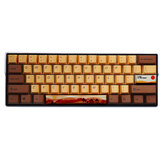 MechZone 108/130 Keys Desert Journey Keycap Set OEM Profile PBT Keycaps for 64/68/84/87/96/98/104/108 Keys Mechanical Keyboards