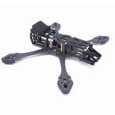 Fonsterfpv StrechX 223/258/296mm Empattement 5/6/7 pouces FPV Freestyle Frame Kit Compatible avec DJI Air Unit/VISTA Air Unit pour RC Racing Drone