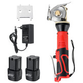Cordless Rechargeable Electric Cloth Fabric Cutting Tools Leather Blanket Electric Cutter Saws Machine Kit W/ 1/2 Battery