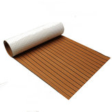 900x2300x6mm Pianka EVA Teak Brown z czarną linią Faux Teak Boat Decking Sheet