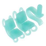 2pcs Dental Bite Blocks Soft Silicone Cheek Retractor Autoclave Orthodontic Oral Care Dental Tools