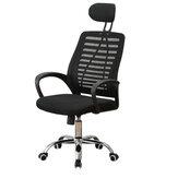 Регулируемое офисное кресло 44,6–48 дюймов, игровой стол, эргономичный, с высокой спинкой, шарнирное соединение, 5 колес для дома