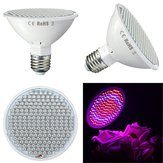 9W E27 200 LED Grow Light Full Spectrum Indoor Red+Blue Hydroponic Plants Veg Lamp