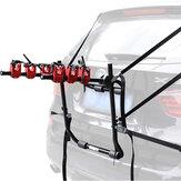 Portabicicletas ajustable para 3 bicicletas, portaequipajes montado en el maletero, bicicleta montada en la bota trasera del coche para SUV