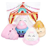 Purami Squishy Sweet Expressions Poo Jumbo 8CM Ralentissant Soft Jouets Avec Emballage Cadeau Décor