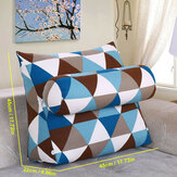 45*45*22cm Multifunctional Three-dimensional Triangle Cushion Bedside Lumbar Pad for Bedding Sets