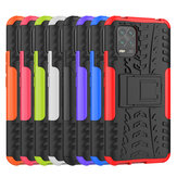 Bakeey Armor Shock-Proof Hard PC with Folded Stand Protective Case for Xiaomi Mi 10 Lite Non-original