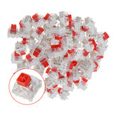 70PCS Pack Kailh BOX Red Switch Commutateurs à clavier pour la personnalisation du clavier