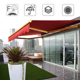 2x1.5M Outdoor Garden Patio Awning Cover Canopy Sun Shade Shelter Waterproof UV Resistant Awning