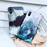 Fashion Ink Painting Pattern Silicone Shockproof Protective Case for iPhone X / XS / XR / XS Max / 7 / 8 / 7 Plus / 8 Plus