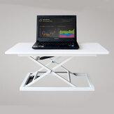 COMNENIR T10 Altura Ajustável Sentar-se Suporte de Mesa Simples Moderna Mesa De Escritório Riser Dobrável Laptop Mesa Notebook Stand