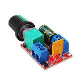 5Pcs DC 3V To DC 35V 5A 90W Mini DC Motor PWM Speed Controller Module Speed Regulator Adjustable Lig