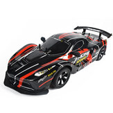 1:10 2.4G 4WDドリフトレーシングカー高速オフロードRCカー、ランプライト付き25KM / h RC車両モデル