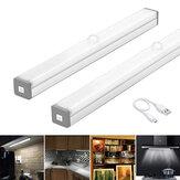 LED Nachtlampje Bewegingssensor Kastlamp USB Oplaadbare Kast Nachtlampen voor Garderobe Keuken Slaapkamer Stapverlichting