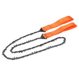 36 Inch Survival Pocket Chain Saw Hand Tool: Outdoor Emergency Sawing Scouts Cadets