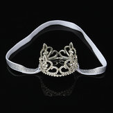 Toddler Baby Rhinestone Crown Headbrands girls Princess Tiara Photography Props