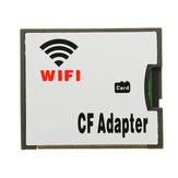 WIFI TF محول CF بطاقة Micro SD Transfer CF محول بطاقة Wireless Memory بطاقة Drag