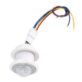 40W LED Infrared Sensor Switch Lamp Incandescent Street Lamp Ceiling Opening 26MM Mini Integrated