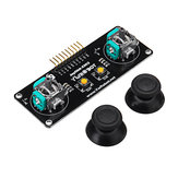 JoyStick 2 Channel PS2 Game Rocker Push Button Module Geekcreit para Arduino - productos que funcionan con placas oficiales Arduino