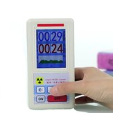 Geiger Counter Nuclear Radiation Tester Personal Dosimeter Marble Detector Nuclear Radiation Tester with Display Screen