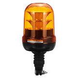 40LED Lumière d'avertissement 12-24V 4 modes de clignotement Beacon Flexible Din Pole Mount Tractor Light Warning