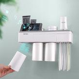 Автоматическая магнитная подставка под зуб Щетка Настенная подставка