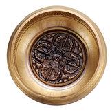 Handmade Tibetan Singing Bowl Meditation Buddhist Chanting Yoga Mallet Mat Set