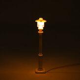 2 шт. Белый Универсальный DIY LED Теплый Белый Свет Лампа Сообщение Фонарь Для Lego Street Building Shop Модель