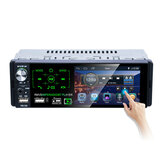 P5130 4,1-Zoll-1DIN-Autoradio-Radio MP5-Player Voll-Touchscreen FM AM RDS Bluetooth USB Starker Bass