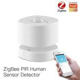 MoesHouse ZB PIR Bewegingssensor Menselijke Sensor Detector Intelligente Koppeling Smart Alarmsysteem Smart Leven Tuya App Controle