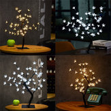 45cm LED Bonsaï Sakura Tree avec 72 fleurs de cerisier LED lampe de table Fairy Light