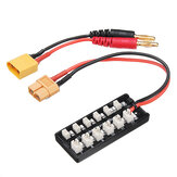 JST PH2.0 Plug 1S Parallel Charging Board XT60 Input for Battery Charger