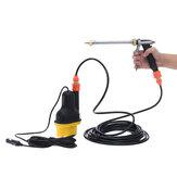 12V Portable High Pressure Power Elektriske Bilvask Vandpumpe Cleaner Sprayer Kit