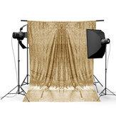 4x6FT Altın Pırıltılı Pullu Fotoğraf Arka Stüdyo Prop Arkaplan