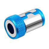 Anello magnetico universale 1/4 Pollici Full Metal cacciavite Anello magnetico bit per gambo da 6,35 mm Anello anti-corrosione per punta da trapano Anello potente