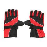 Paire hiver moto vélo course ski patinage gants imperméable coupe-vent