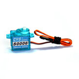CYS-S0006 1.2kg Analog 6g Micro Servo For F3P KT RC Airplane Mini Aircraft