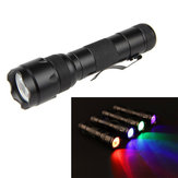 XANES502BXM-L21200LMLuzAzul / Luz Vermelha / Verde Luz / UV Luz Roxa Caça Funcional Busca Lanterna Fluorescência Detecção