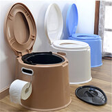 Portable Travel Toilet Compact Potty Bucket Seats Waste Tank Lightweight Outdoor Indoor Toilet For Camping Hiking Boating Caravan Campsite Hospital