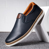 Männer Retro Soft Walking Sole Casual Business Loafers