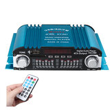 ST-997 Mini Car HIFI Scheda amplificatore audio Amplificatore stereo digitale 4 canali Blu 80W 12V USB SD FM universale
