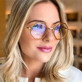 New Tr90 Glasses Frame Irregular Round Frame Optical Glasses