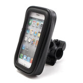 Cell Phone GPS Handlebar Mount Holder Waterproof Bag Case For Motorcycle Bike S/M/L/XL