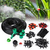 DIY 40M Micro Drip Irrigation System Agriculture Sprinkler Garden Plant Flower Automatic Watering Tool