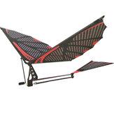 18 Inches Eagle Burung Serat Karbon Perakitan Mengepakkan Sayap Model Pesawat Pesawat DIY Mainan Dengan Kotak